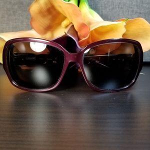 Coach Purple S2025 Sunglass Frames